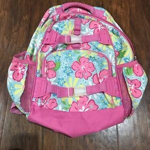 Pottery barn Kids Floral Large Backpack